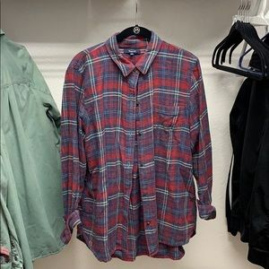 Madewell boy shirt flannel